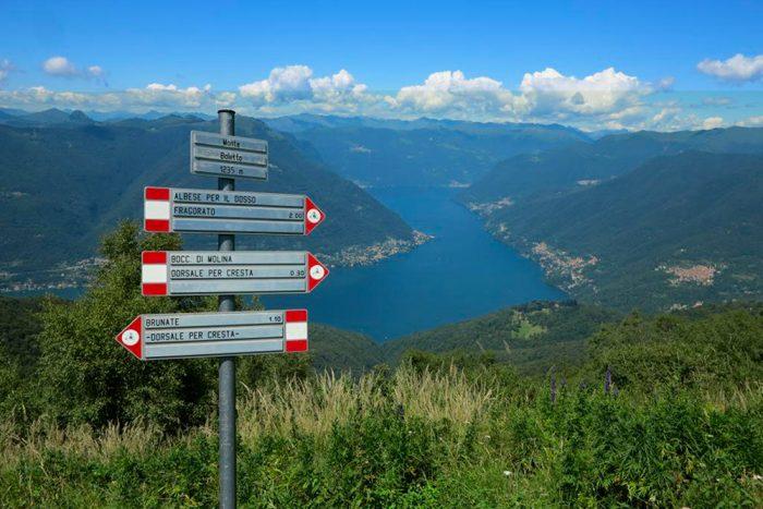 Itinerario Brunate
